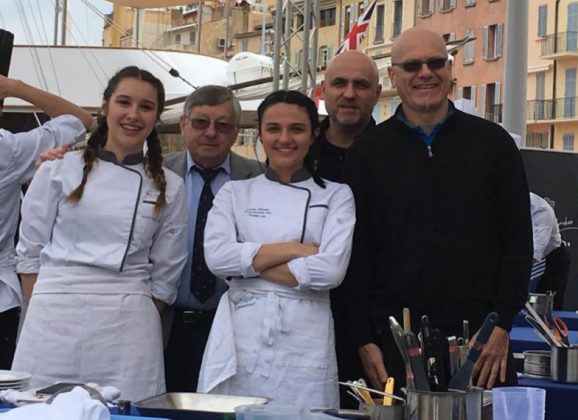 Concours de cuisine des jeunes chefs à Saint-Tropez